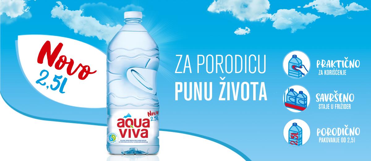 Aqua Viva 2 5l Za Porodicu Punu Zivota Aqua Viva