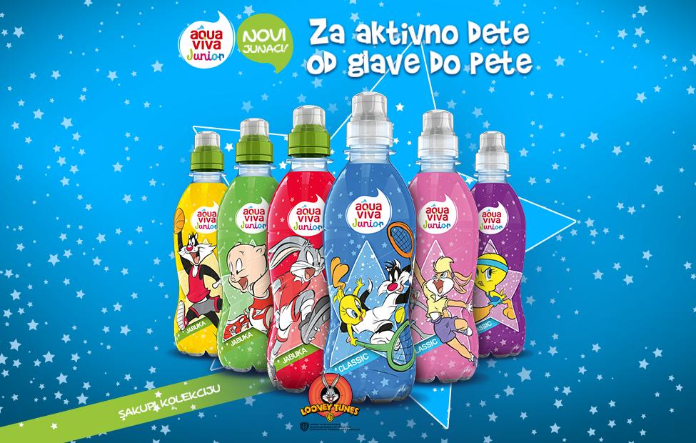 Aqua Viva Junior sa još zabavnijim, redizajniranim etiketama.